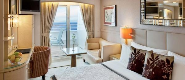 Deluxe Stateroom with Verandah Category A B